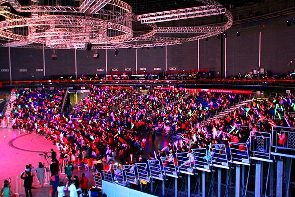 太阳宫剧场热力举行小舞苗、振道跆拳道13周年庆活动