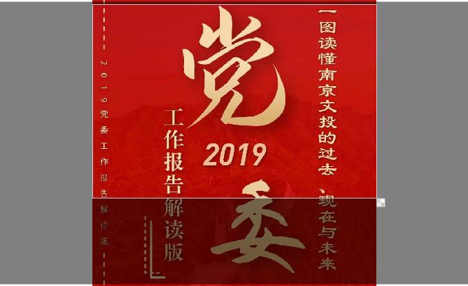 一图解读:集团党委2019工作报告